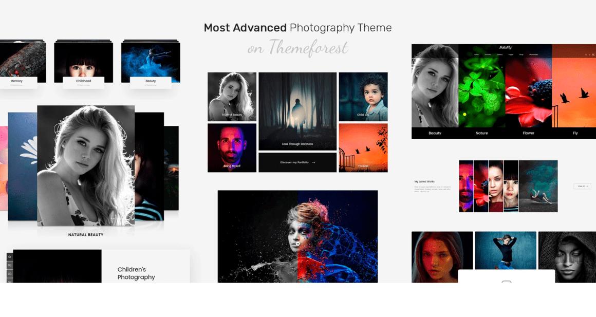 Бесплатный WordPress шаблон для фотографов