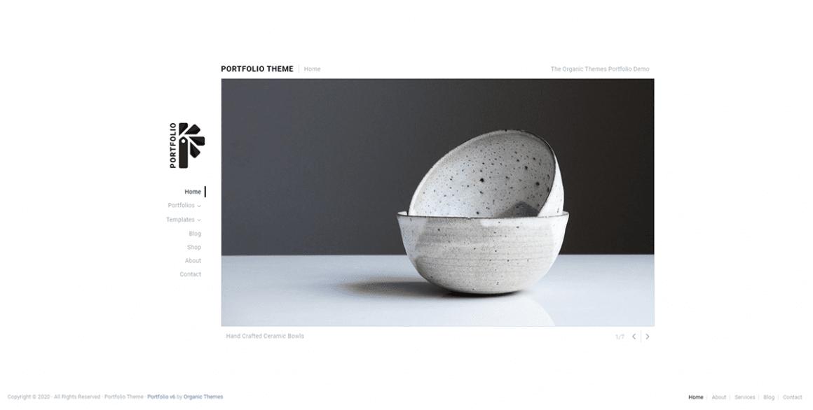 Portfolio Lite – Лучшие и бесплатные темы для WordPress