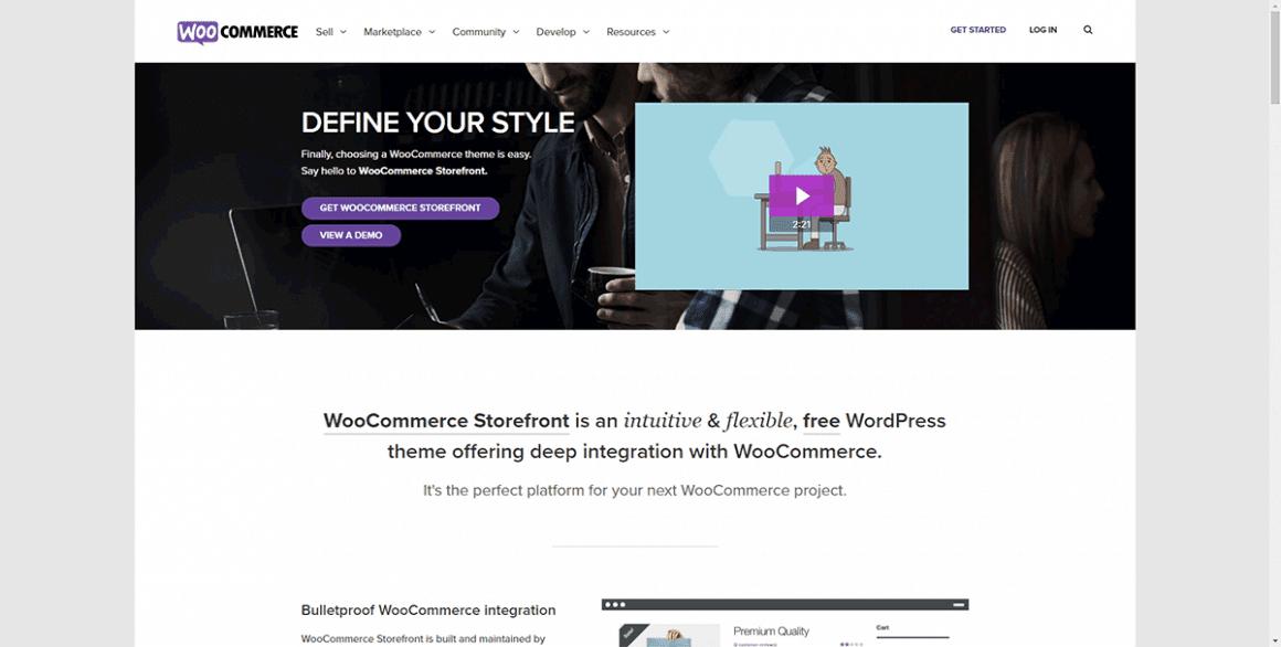 Storefront - Лучшие и бесплатные темы для WordPress