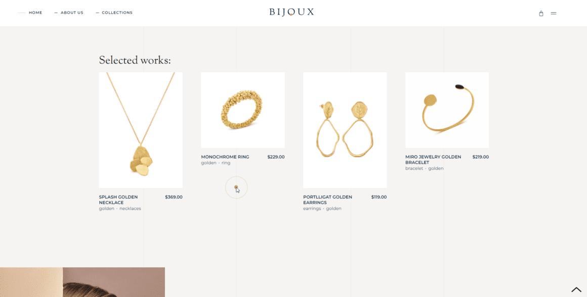 Bijoux - WordPress шаблон для интернет магазина