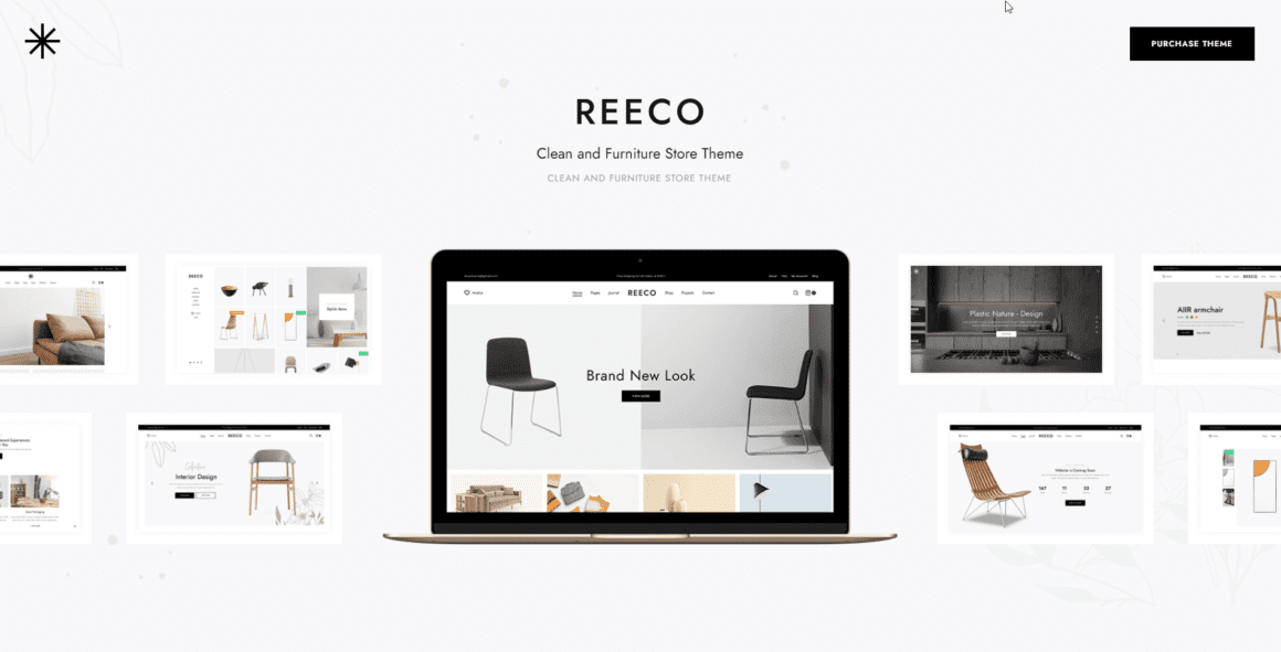 Reeco - Шаблон для интернет-магазина на WordPress