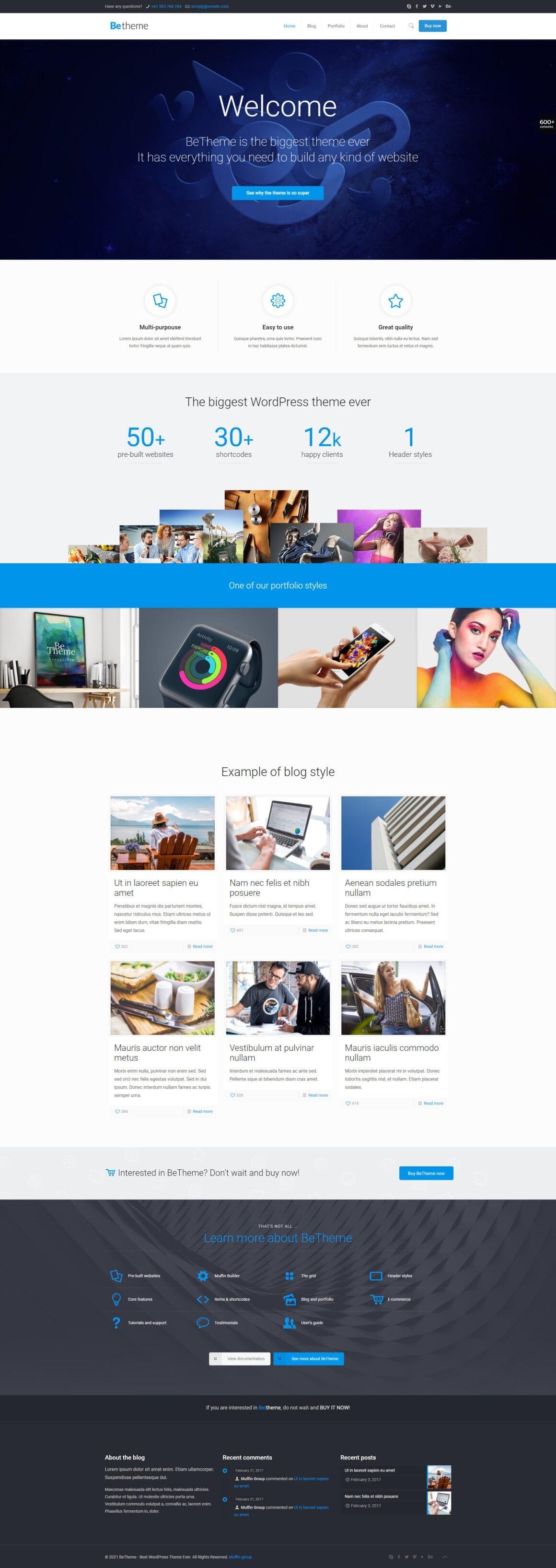 WordPress шаблоны для Elementor