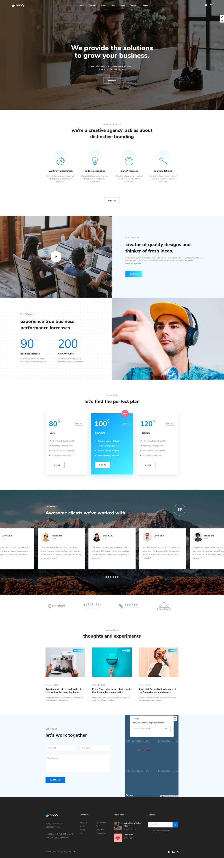 WordPress шаблоны для лендинга