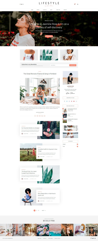 Темы для WordPress блога